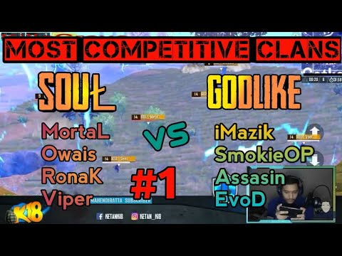 SouŁ vs GodL | MortaL vs iMazik | Part 1  | PUBG MOBILE