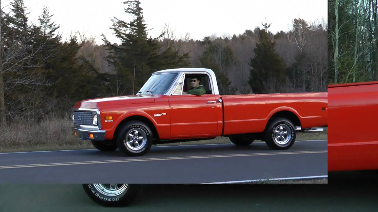 1971 chevy c10 pickup 454 big block youtube. Black Bedroom Furniture Sets. Home Design Ideas