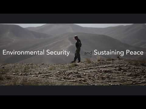 [Trailer] MOOC on Environmental Security and Sustaining Peace - March 2018