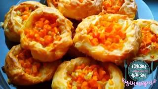 Готовим татарские пирожки с тыквой.