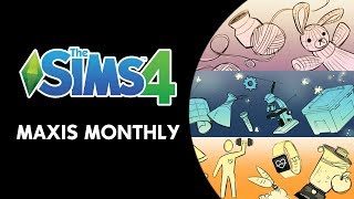 The Sims 4 Maxis Monthly Live Stream (November 12th, 2019)