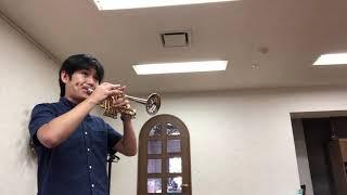 Dragon Quest on piccolo trumpet ドラゴンクエスト(ピッコロトランペット)
