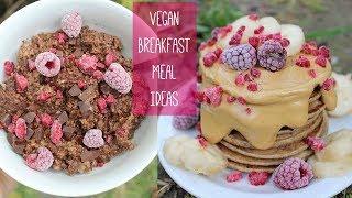 MAKE AHEAD VEGAN BREAKFAST IDEAS | Easy, Healthy, Delicious