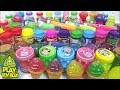Combine All the Colors Slime Soft Jelly Clay Stressball Surprise Toys