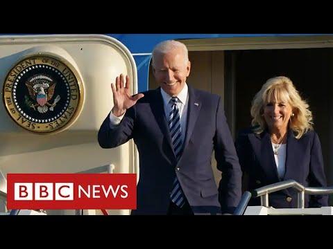President Biden arrives at G7 with warning on Northern Ireland - BBC News