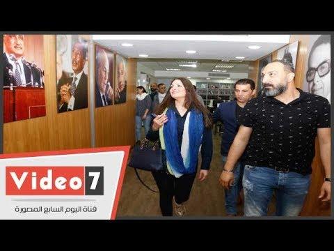 الفنانة نرمين الفقى تزور اليوم السابع بعد نجاح مسلسلها أبو العروسة  - 19:22-2018 / 4 / 25
