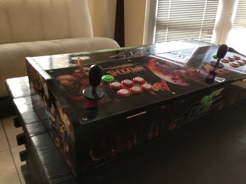 The King Of Fighters / SNK Arcade Fighting Stick with Hyperspin 18,000 games! Mortal Kombat XL - 동영상