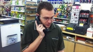 Fed Up Walmart Customer Takes Over Register