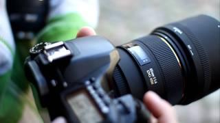 Sigma EX DG HSM 85 mm F1.4 - kłopot z afem (lustrzanki Canon) / AF problem (with Canon cameras)