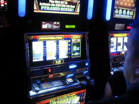 show people playing high limit slots