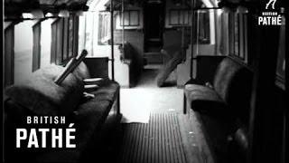 Tube Train Crash - Stratford (1953)