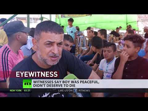 16yo Palestinian dies after shot by IDF at Friday Gaza protest