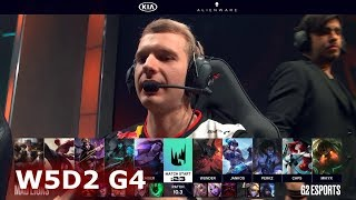 Mad Lions vs G2 Esports | Week 5 Day 2 S10 LEC Spring 2020 | MAD vs G2 W5D2