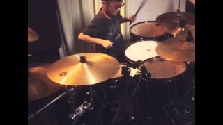Cover images Howard wong 10yrs old drum solo 2016