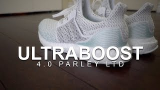 ADIDAS ULTRABOOST 4.0 PARLEY LTD - 7 MILE TEST RUN AND FIRST IMPRESSIONS