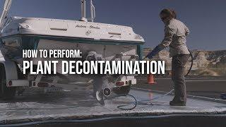 Plant Decontamination