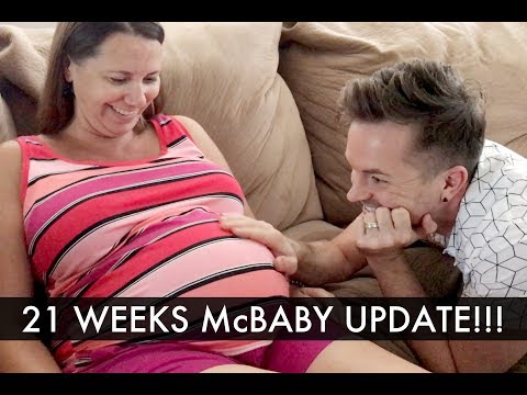 21 Weeks McBaby Update! - Gay Dads & Twins IVF Surrogacy Journey /// McHusbands