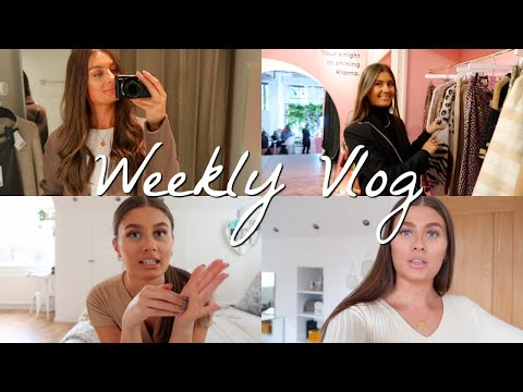 Weekly Vlog | Come Shopping With Me & A Klarna Event | AMY-BETH