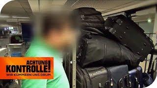 ZOLL: Mann mit 9 KOFFERN - Warum hat er SO VIEL Gepäck dabei? | Achtung Kontrolle | kabel eins