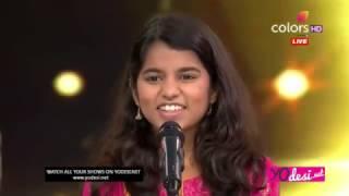 Mathili thakur  calours tv Rising Star first day 11th February 2017