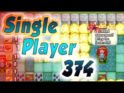 Bomber Friends - Single Player Level 374 ✔️