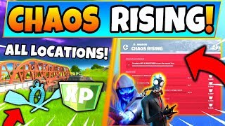 Fortnite MOTORBOAT TIME TRIAL & CHAOS RISING CHALLENGES GUIDE – Green Bridges (Fortnite Missions)