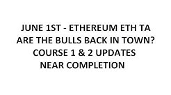 June 1st Ethereum ETH TA - Are The Bulls Back In Town?