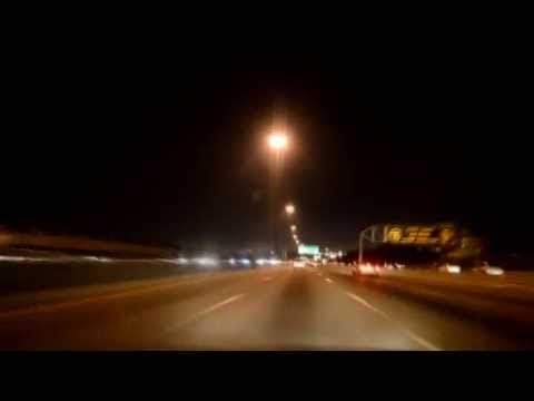 Highway 401: Highway 404 To 407ETR At Night