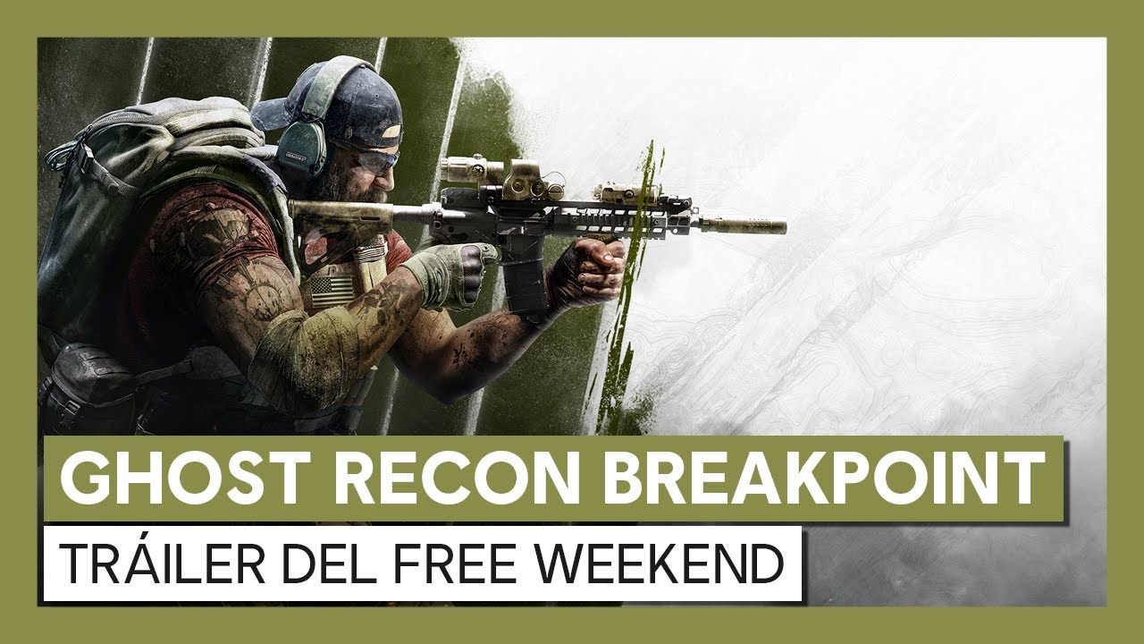 Ghost Recon Breakpoint: tráiler del Free Weekend
