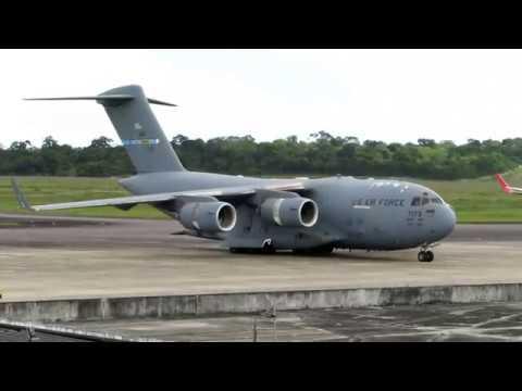 Boeing - C-17A Globemaster III em MANAUS, AM/Brasil