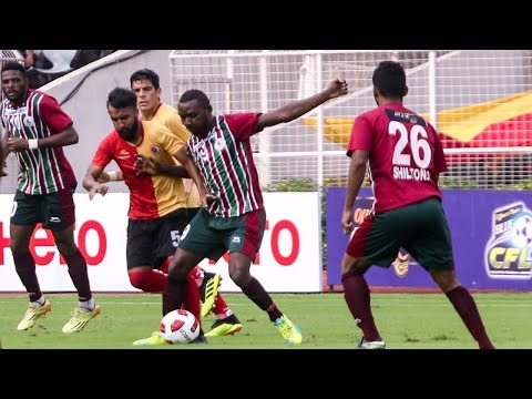 Sadhna News CFL 2018: Mohun Bagan vs East Bengal | Goals & Special Moments