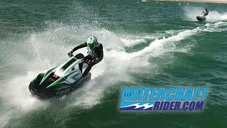 2017 Kawasaki SX-R On The Water