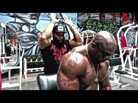 Monster Tricep Workout - Kali Muscle + CT Fletcher
