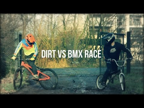 DIRT vs BMX RACE | Tristan Botteram - Djeronimo Slots