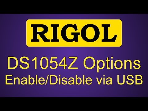 How to reset and unlock Rigol DS1054Z via USB (in under 2 minutes)