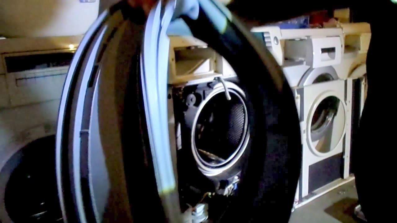 Siemens Iq 1430 Turmanschette Turdichtung Ersetzen Youtube