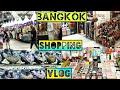 BANGKOK SHOPPING VLOG    Platinum Mall & Sampeng Market     Watsons