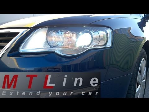 VW Passat B6 - how does static cornering light in AFL bixenon headlight work