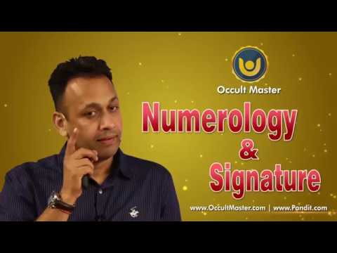 Numerology & Signature by Rahul Kaushl (Occult Master)