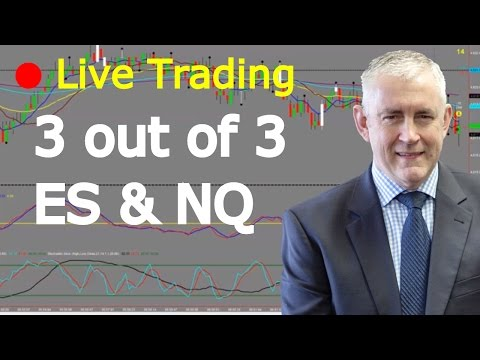 Live Day Trading ES And NQ. 3 Out Of 3. Watch To The End