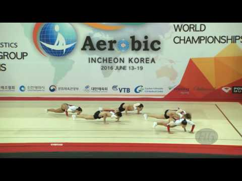 France  (FRA) - 2016 Aerobic Worlds, Incheon (KOR) - Qualifications Group