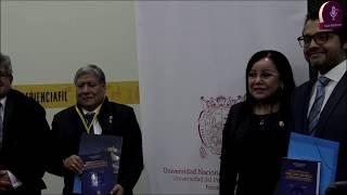 Tema: Presentación de libro de la UNMSM en la FIL Lima 2019