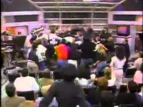 Geraldo Rivera in a FIST FIGHT!
