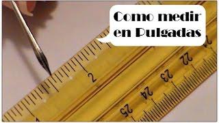 Cómo medir en pulgadas?? | Luisa PaperCrafts