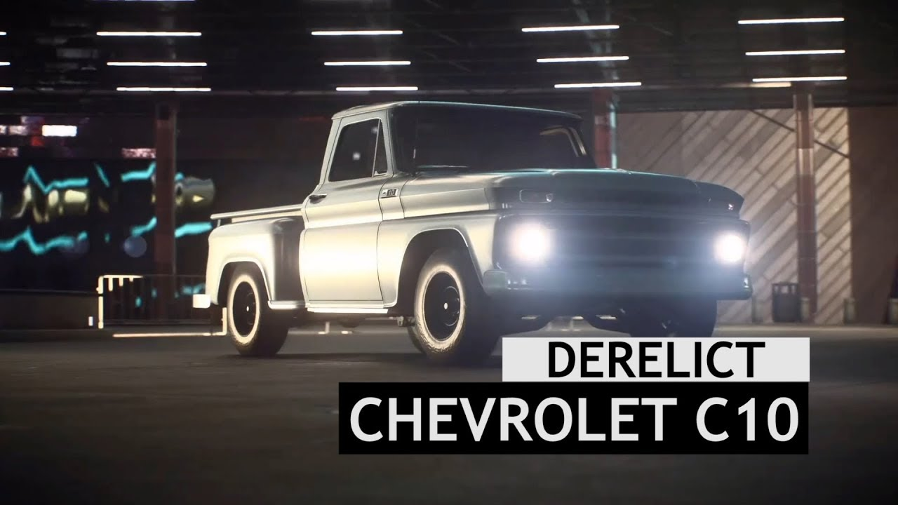 Need For Speed Payback Derelict Chevrolet C10 Pickup Part Locations Youtube