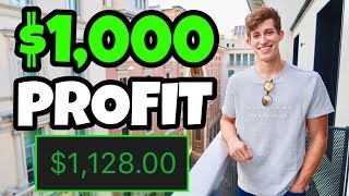 How I Made $1,000 PROFIT In 1 Hour Day Trading