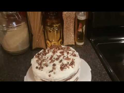 AUTUMN SPICE CAKE/ CREAM CHEESE FROSTING