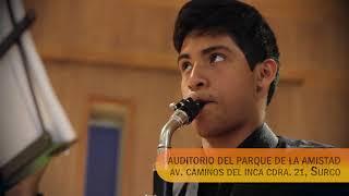 Concierto especial de la Orquesta Peruana de Clarinetes