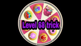 candy crush saga level 68 clear trick