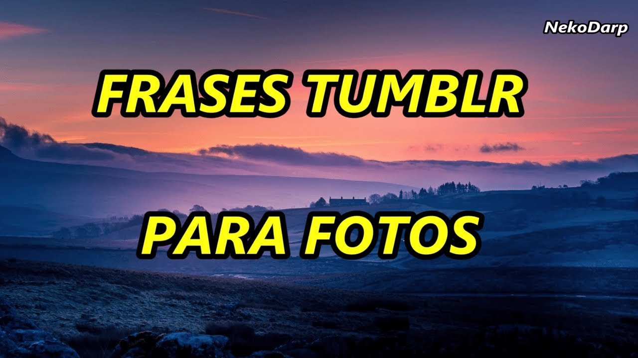 Frases Tumblr Chistosas Para Fotos De Facebook